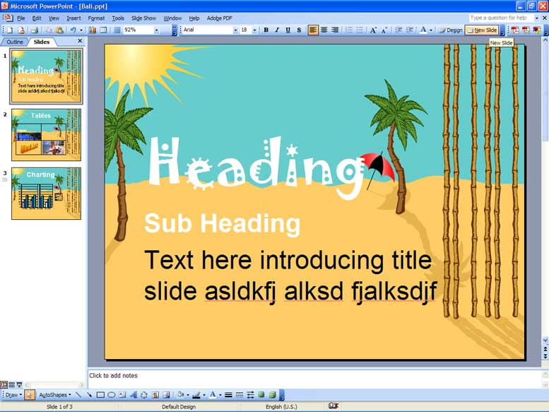 Atrixware » Blog Archive What Makes a PowerPoint Slide Good ...