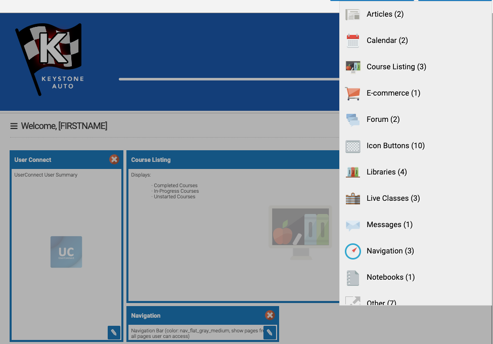 Branding Learning Portal Editor