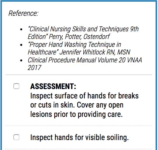 Website Checklist Example