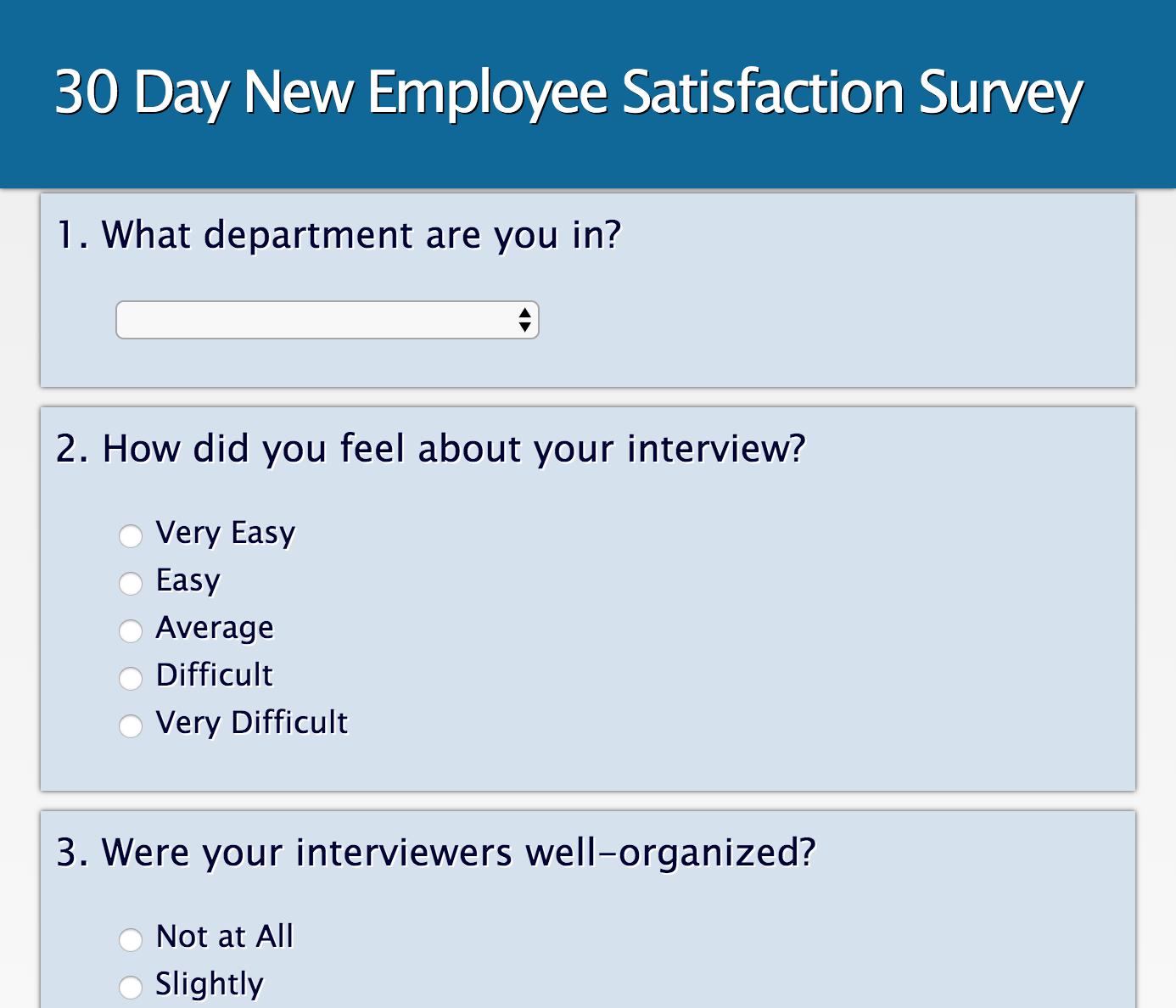Survey User Side